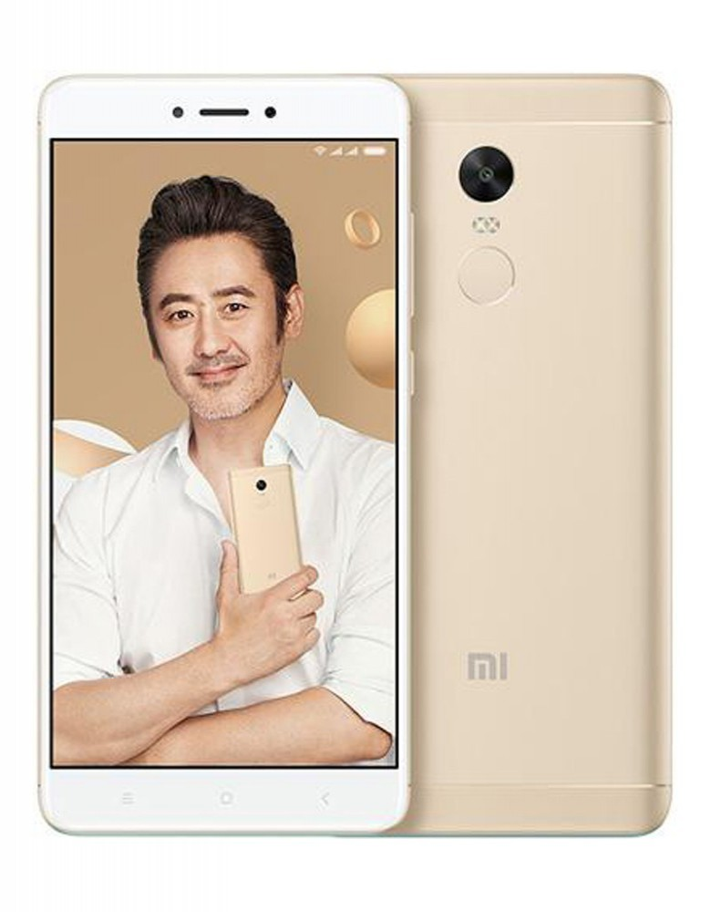 Xiaomi Redmi Note 4X 64GB Smartphone - Gold